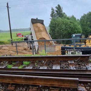 Geležinkelio projektų įgyvendinimas